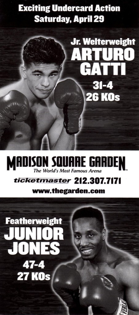 Gatti and Jones Fight Poster