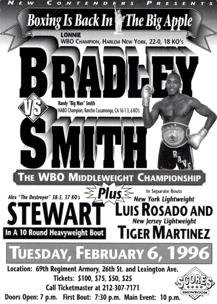Bradley vs. Smith Fight Program