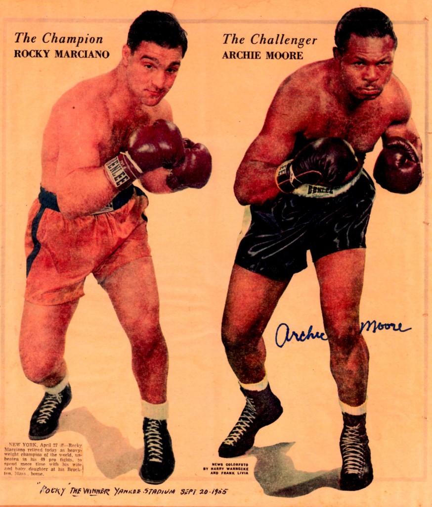 Marciano vs. Moore
