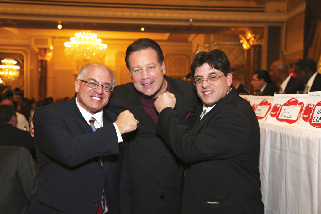 The Boxing Twins with former two-time Champion Bobby Czyz