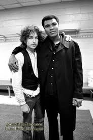 Muhammad Ali with Bob Dylan