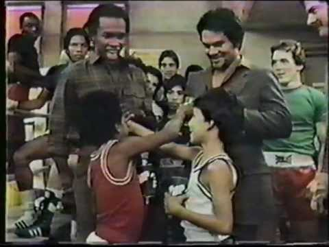 Sugar Ray Leonard and Roberto Duran 7-Up Ad
