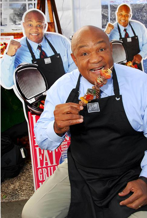 George Foreman Grill Ad