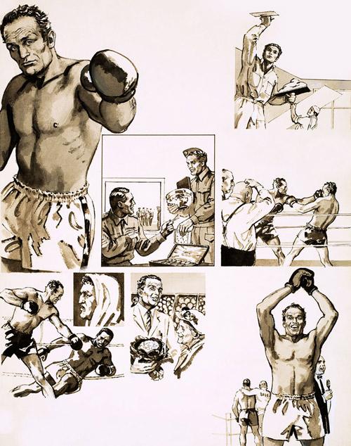 British and European Heavyweight Champion Henry Cooper