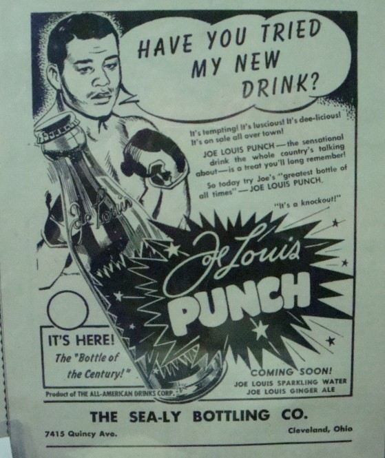 Joe Louis Punch Print Ad