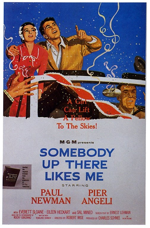 BNsomebody Up There LIkes Me Poster 1