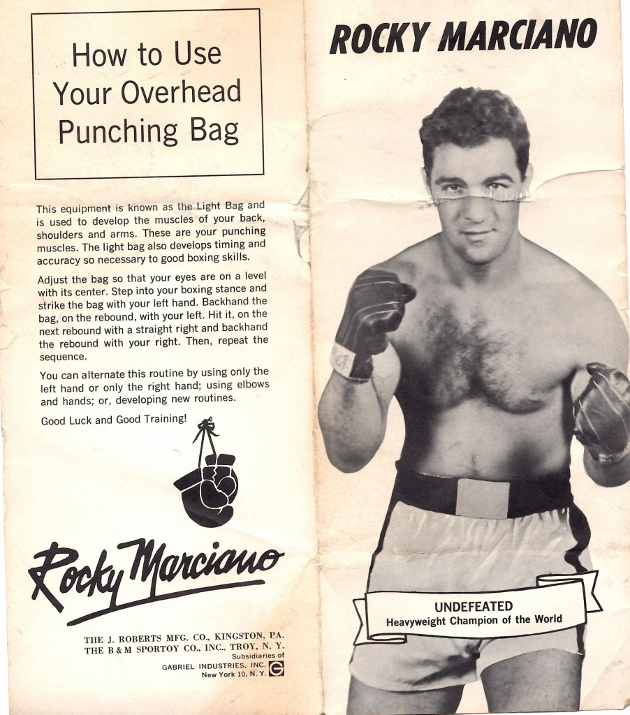 Rocky Marciano Punching Bag