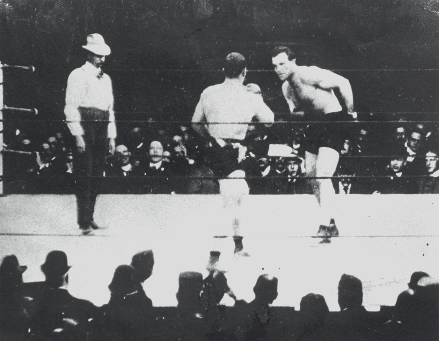 #5Fight Action Jeffries-Sharkey II 1899 another photo