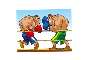 USABNWEBboxing cartoon two big guys