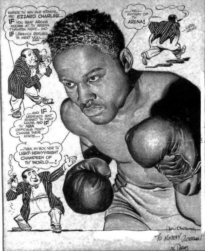 Heavyweight Champion Ezzard Charles