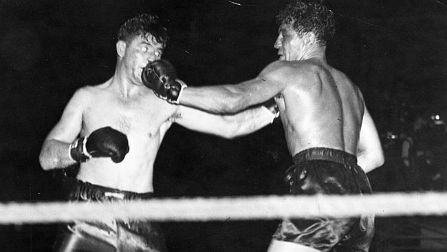 Max Baer vs. James J. Braddock (CLICK ON PHOTO TO VIEW FIGHT CLIP)