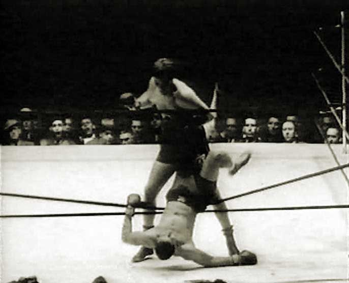 Joe Louis vs. Buddy Baer in 1941