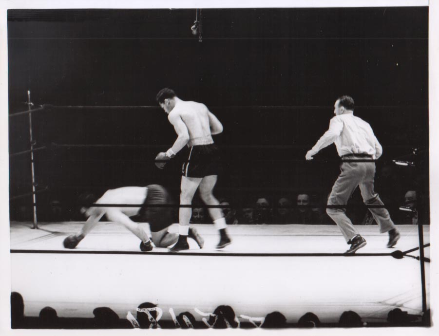 Joe Louis vs. Max Schmeling II in 1938