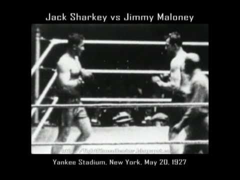 Sharkey vs, Maloney in 1927 (Click Photo To View Fight Clip)