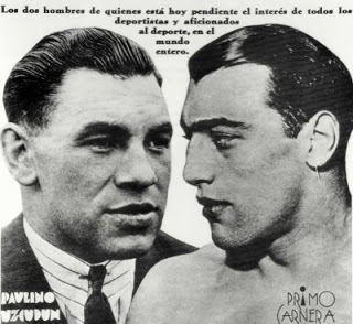 Primo Carnera vs. Paulino Uzcudin in 1933 (CLICK PHOTO TO VIEW FIGHT VIDEO)