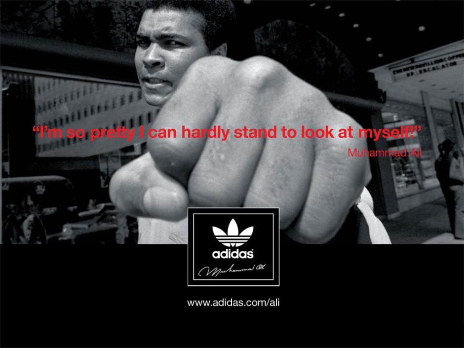 Ali Ad Adidas