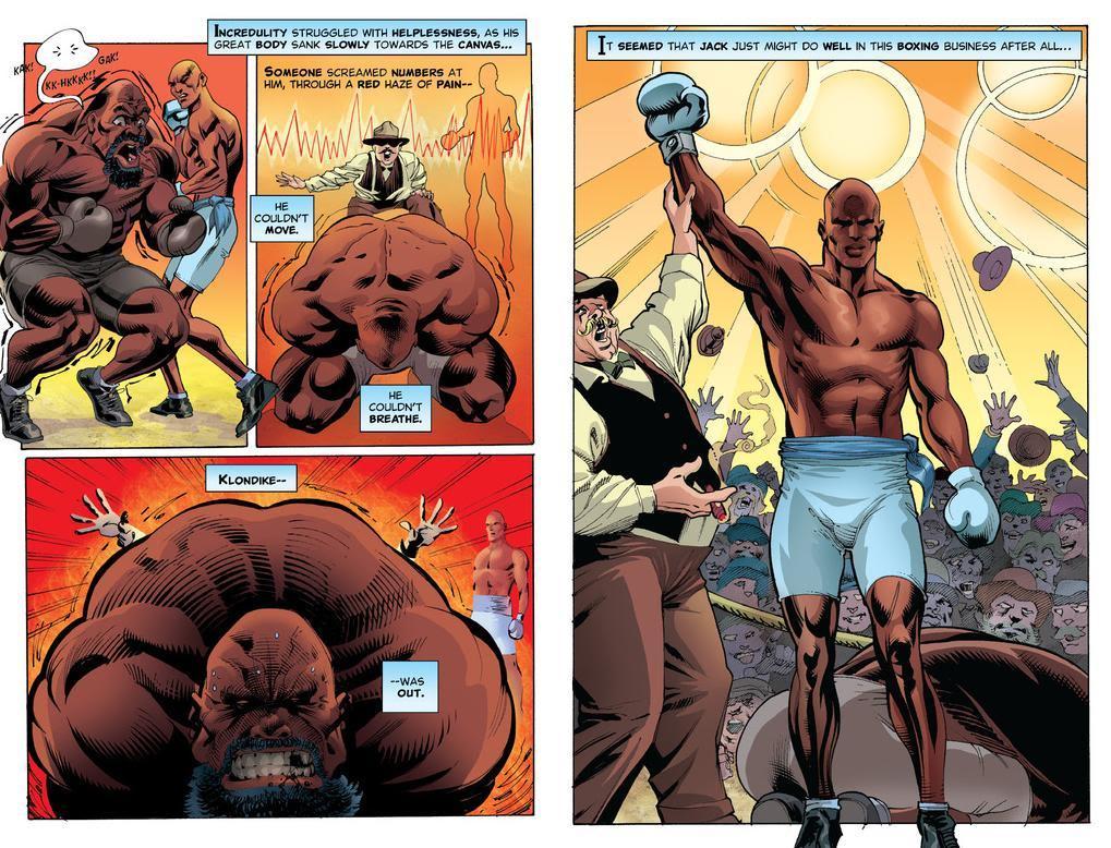 WWWWWWWWWWJack Johnson Comic