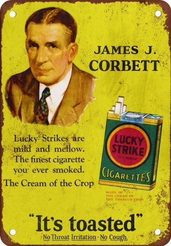 James J. Corbett Ad