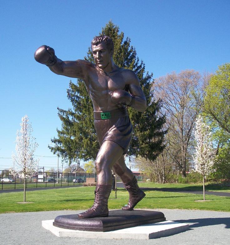 Rocky Marciano Statue in Brockton, MA