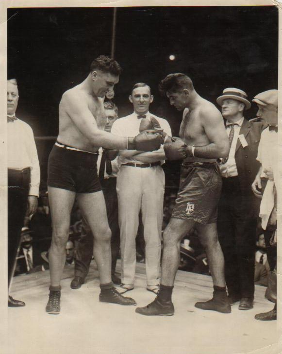 Jess Willard vs. Louis Angel Firpo in 1923