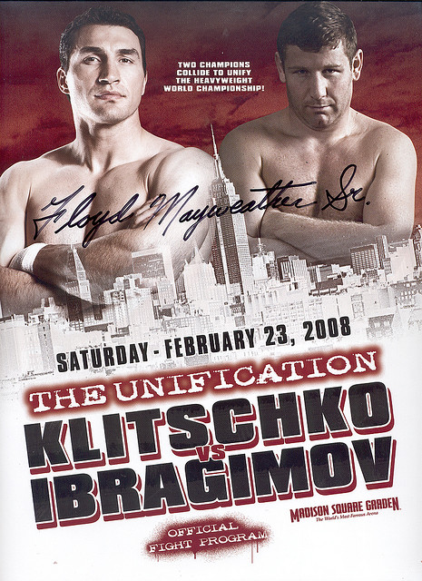 FIGHT PROGRAM KLITSCHKO-IBRAGIMOV.