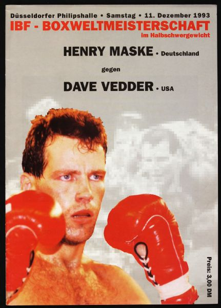 FIGHT PROGRAM MAKSE-VEDDER.