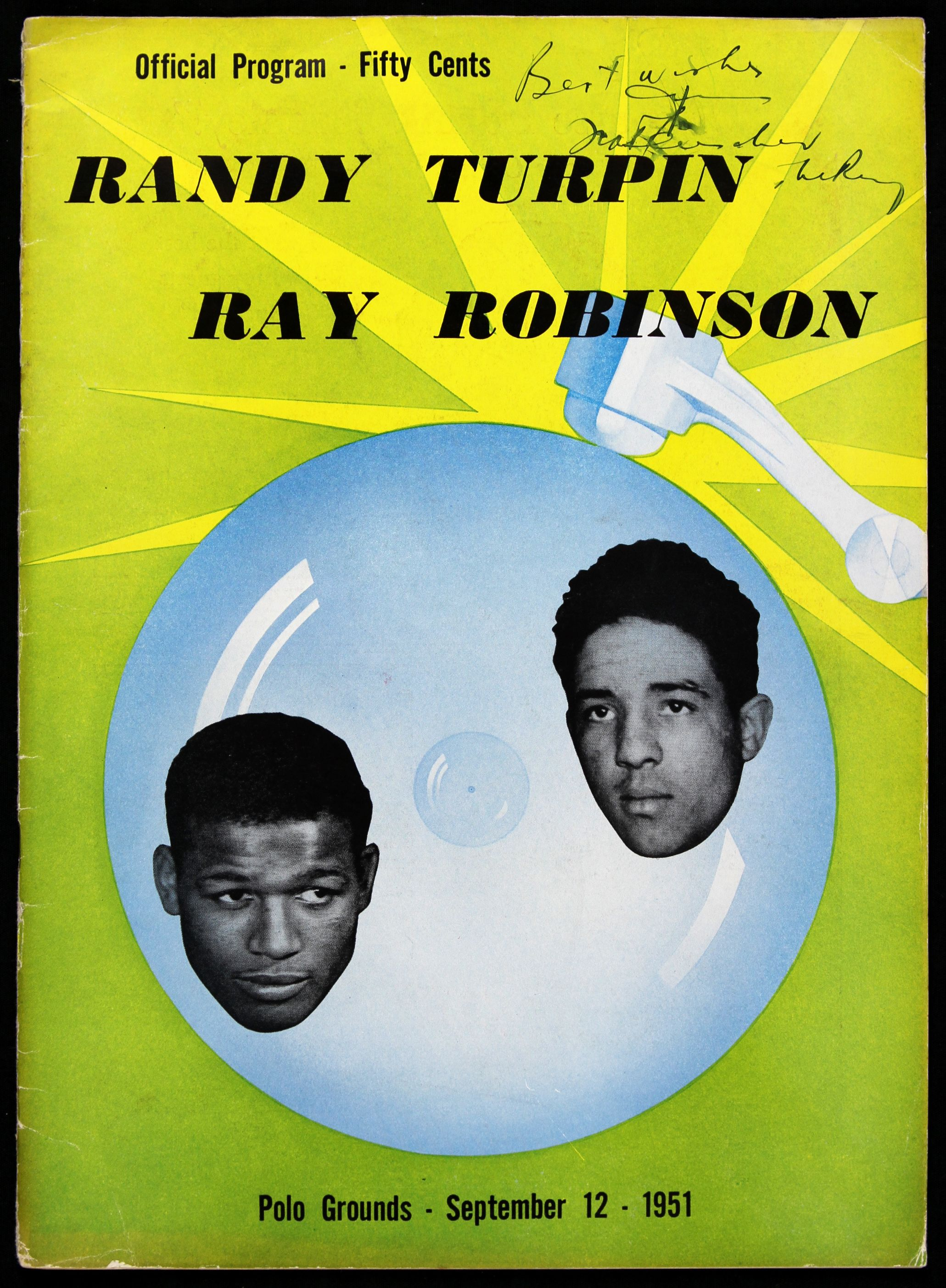 FIGHT PROGRAM ROBINSON-TURPIN II.