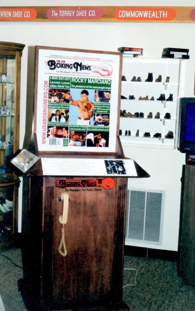 USA Boxing News Exhibit at the Rocky Marciano Museum in Brockton, Mass.