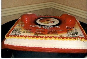 Cake Celebrating the Florida Boxing Hall of Fame 2012 Inductions