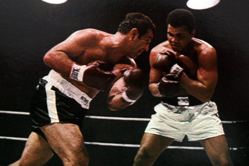 MARCIANORockyMarciano vs. Ali Super Fight 1