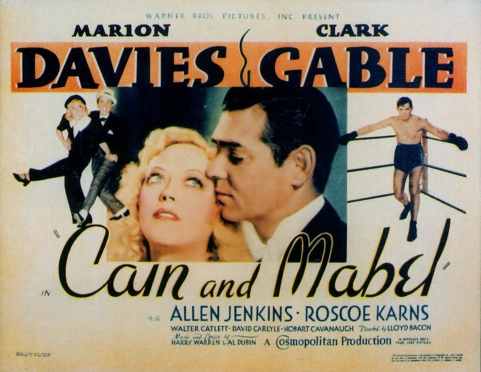 MOvieeeeMovie Poser Cain and Mabel 1936