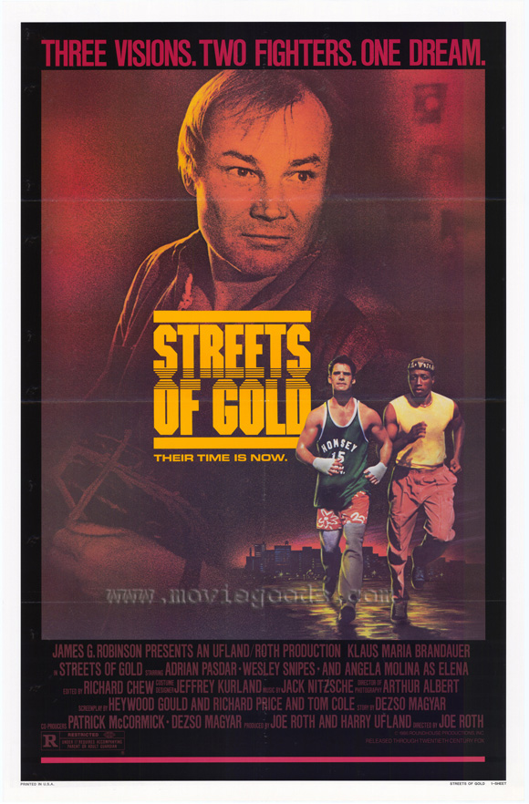 MOvieeeeMovie Poster Streets of Gold 1986