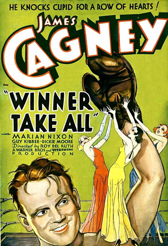 MOvieeeeMovie Poster Winner Take All 1932.