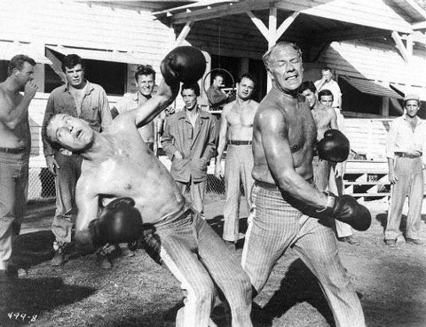 Paul Newman and George Kennedy in Cool Hand Luke