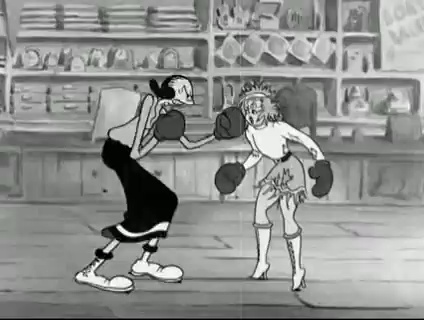 May West vs. Olive Oyl