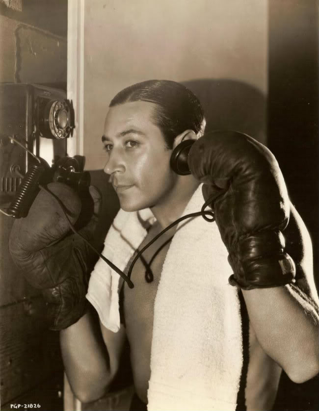 Actor George Raft