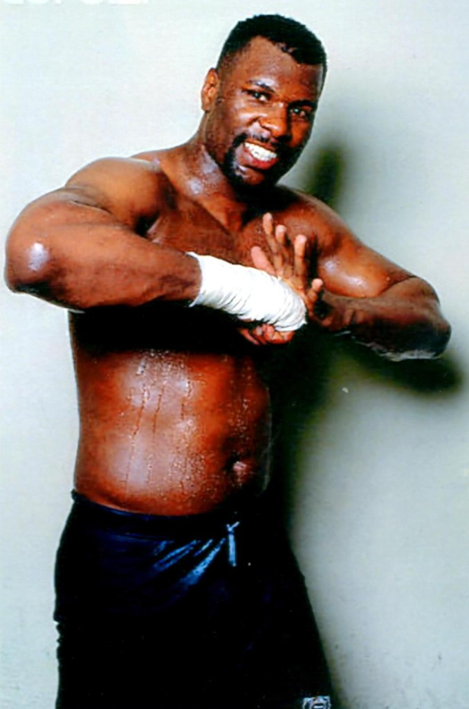 "IBF World Heavyweight Champion Tony ""TNT"" Tucker * (PHOTO BY ALEX RINALDI)"