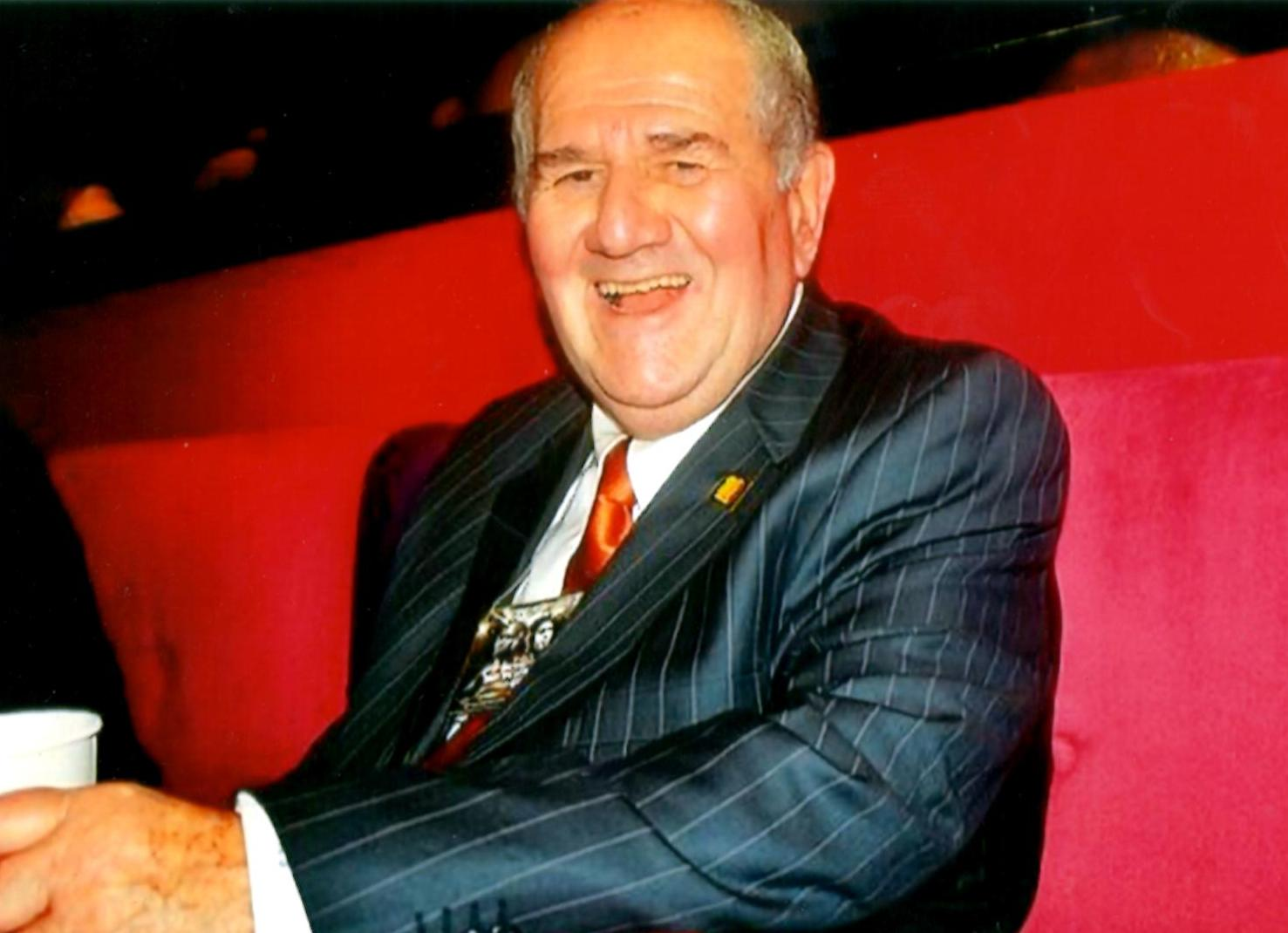 Famed Boxing Judge and HBO Announcer Harold Lederman *(PHOTO BY ALEX RINALDI)