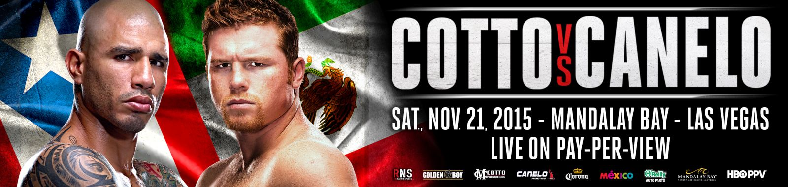 Cotto-Canelo press photo