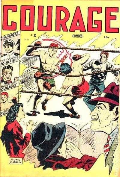 NEWBoxing Comic Book 5.