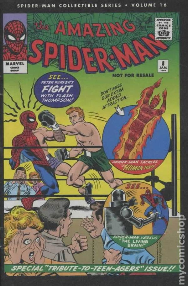 NEWBoxing Comic Book Another Spider-Man.