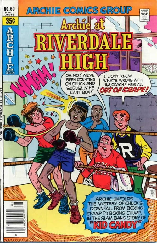 NEWBoxing Comic Book Archie.