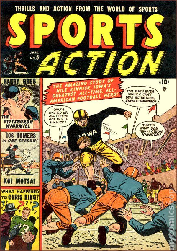 NEWBoxing Comic Book Harry Greb.