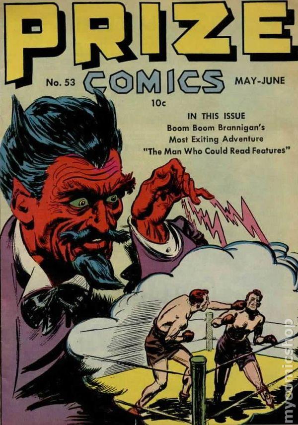 NEWBoxing Comic Book Horror.
