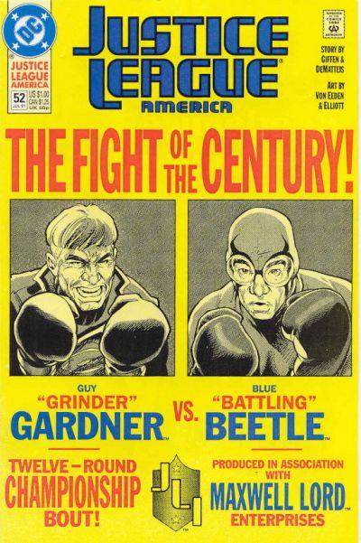 NEWBoxing Comic Book Justice League.