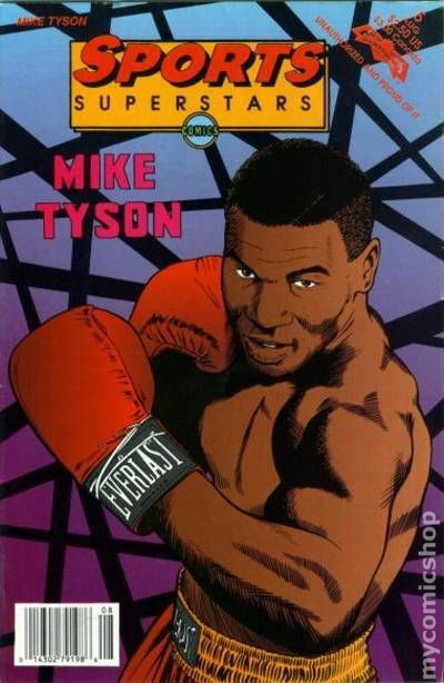 NEWBoxing Comic Book Mike Tyson.