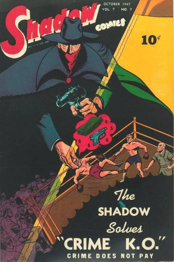 NEWBoxing Comic Book The Shadow.