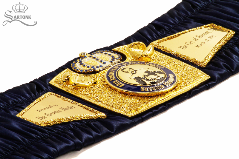 A SARTONK Championship Belt