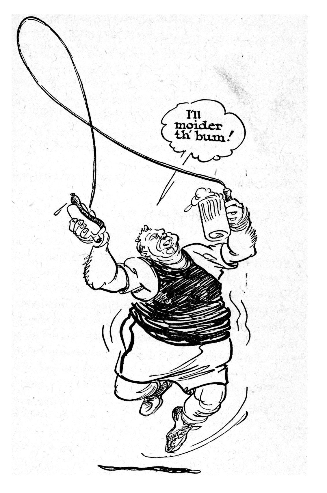 USABNWEBNOVBoxing Cartoon Tony Galento