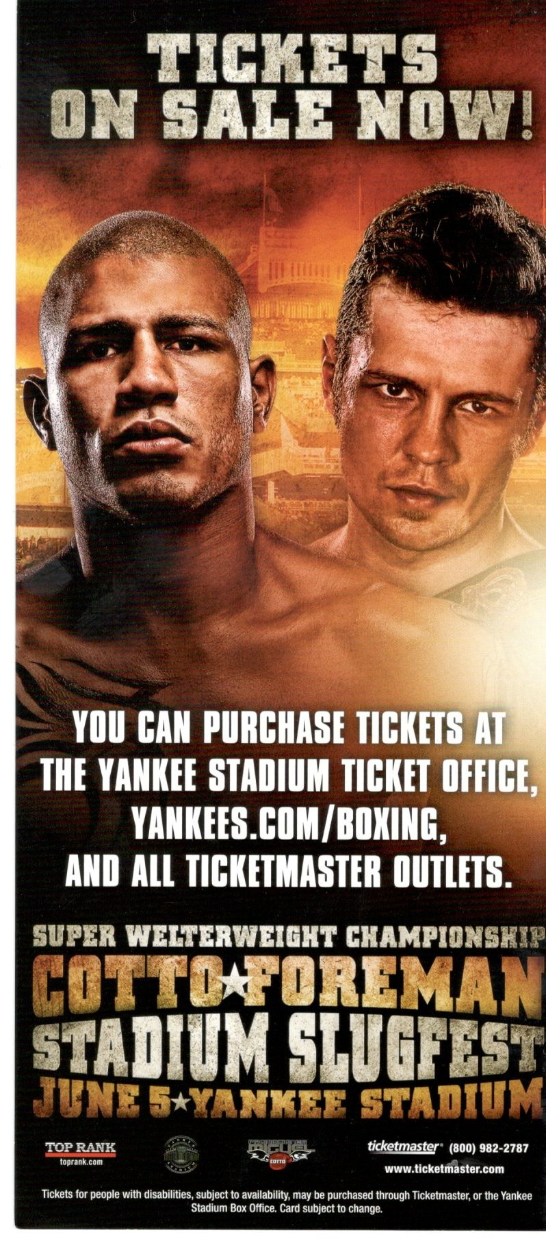 Yankee Stadium Fights 10